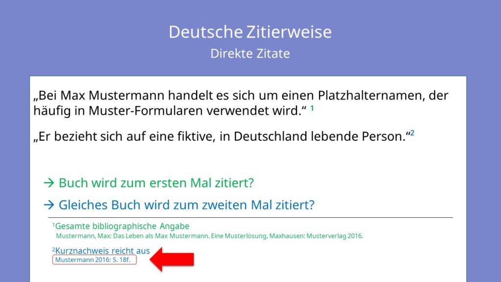 Deutsche Zitierweise