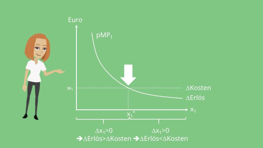 Potenz und Kostenfunktion