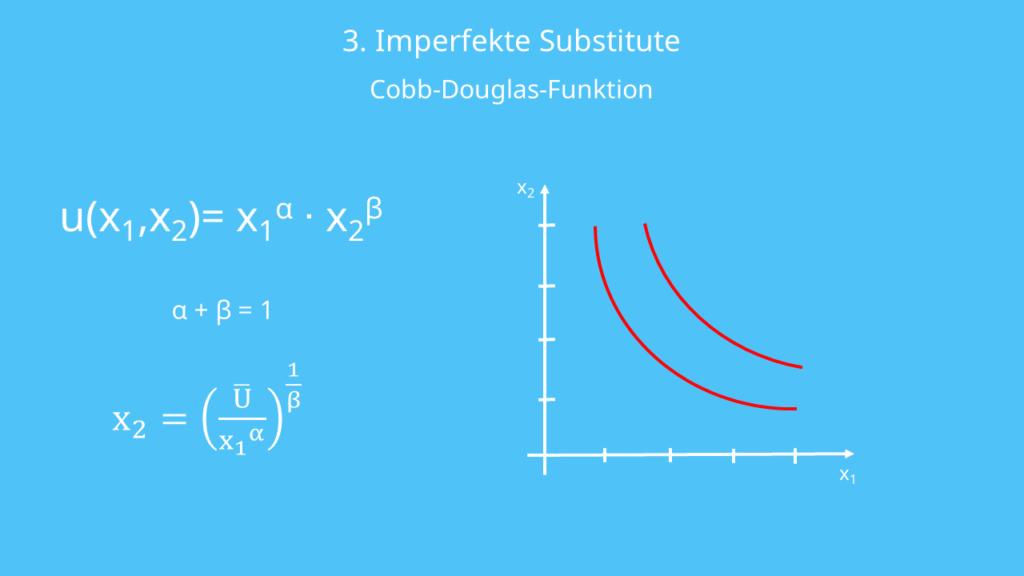 Nutzenfunktion Imperfekte Substitute