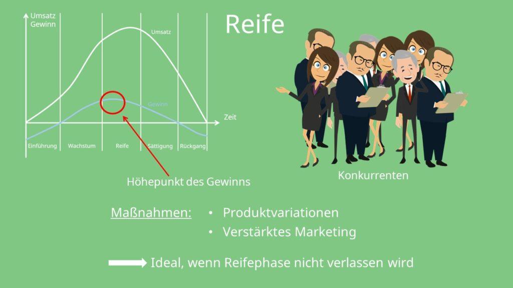 Produktlebenszyklus und Produktlebenszyklusphasen