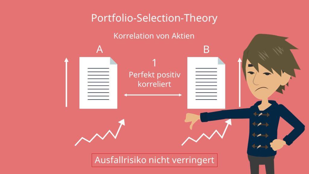 Korrelation Aktien Portfoliotheorie