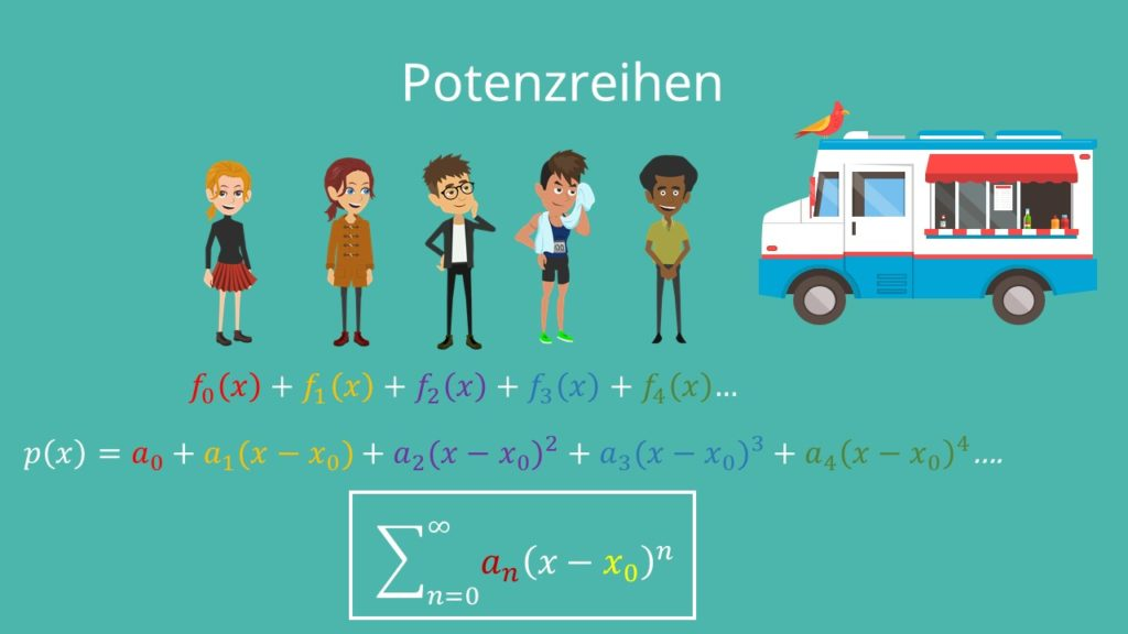 Potenzreihen Definition