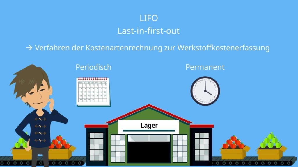 periodische und permanente LIFO