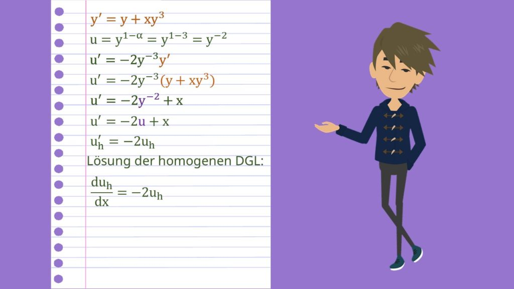 Bernoulli DGL Beispiel