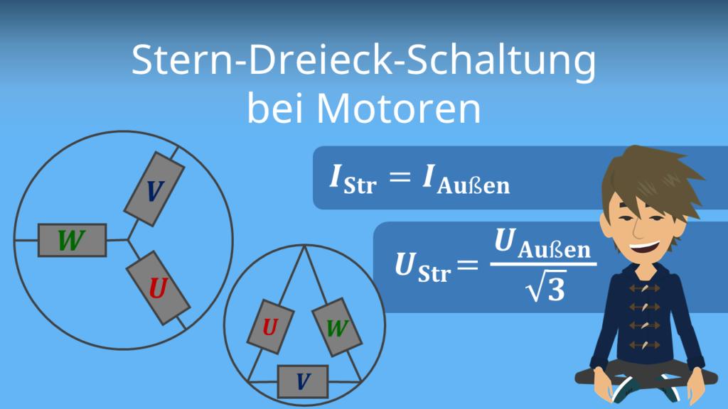 Zum Video: Stern- und Dreieck-Schaltung bei Motoren