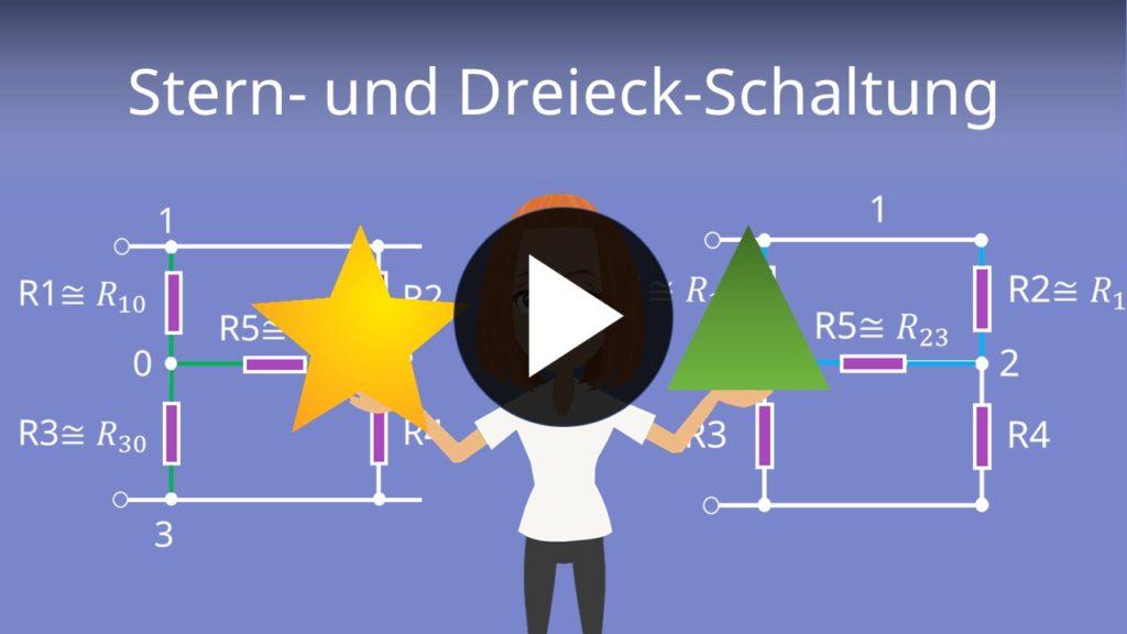 Stern-Dreieck-Schaltung| einfach erklärt für dein Elektrotechnik-Studium