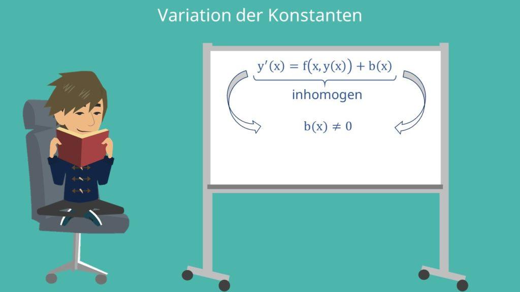Variation der Konstanten