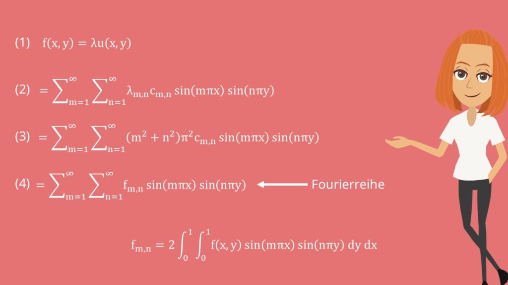 Poisson Gleichung Surm-Liouville-Problem lösen