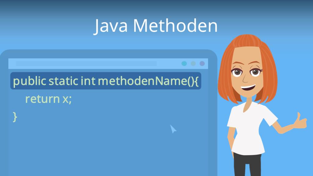 Zum Video: Java Methoden