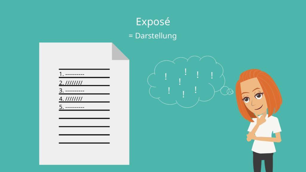 Expose Bachelorarbeit, Expose schreiben, Expose Beispiel