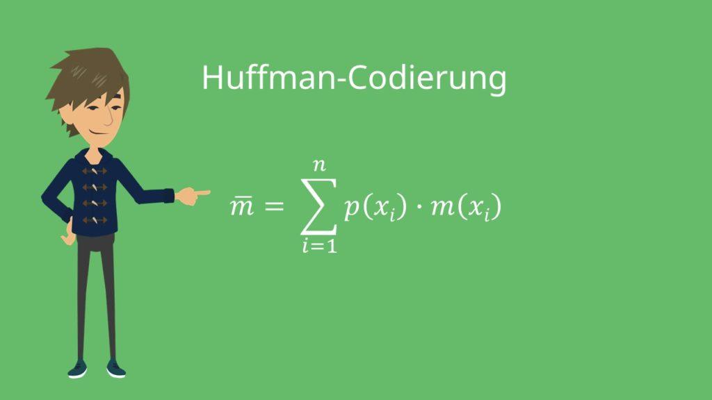 Huffman-Codierung