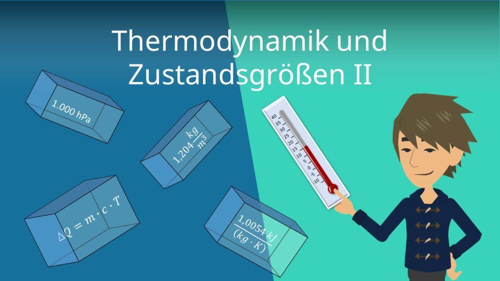 Thermodynamik und Zustandsgrößen