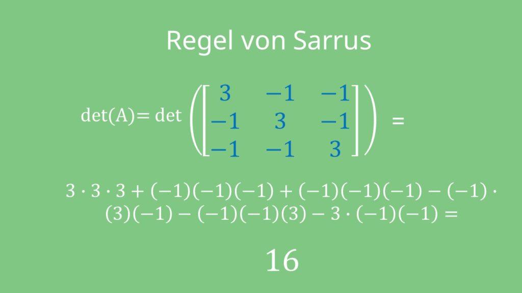 Cramersche Regel
