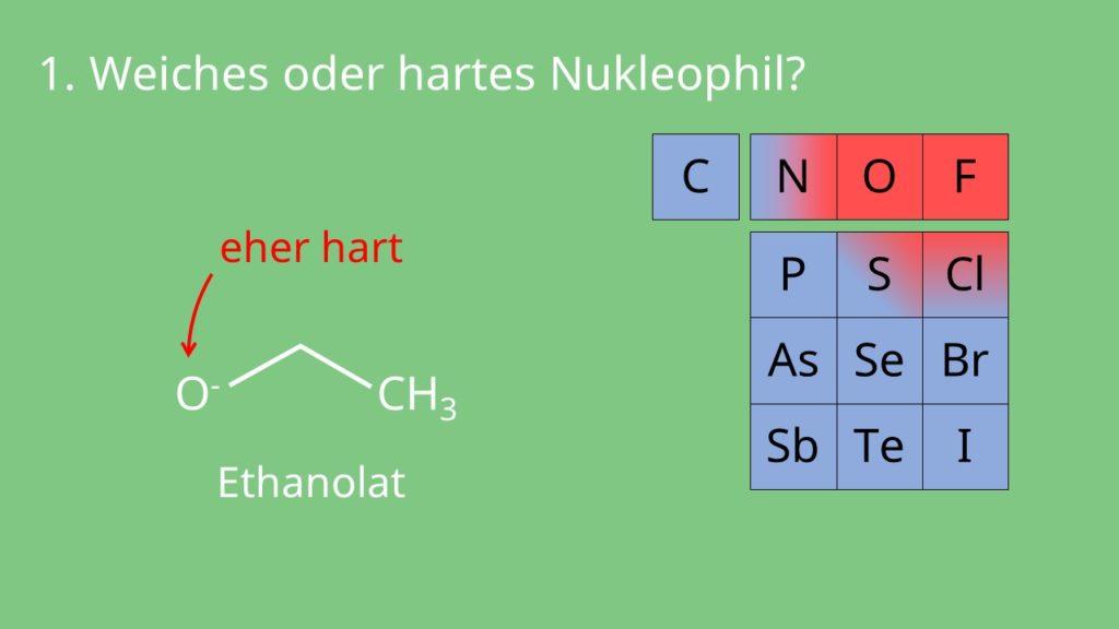 Beispiel hartes Nukleophil