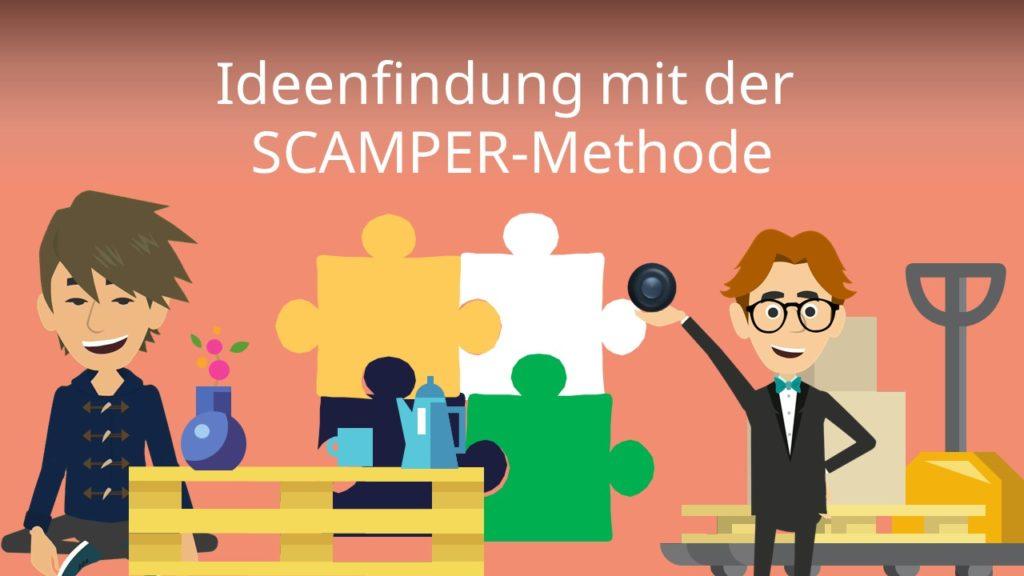 Ideenfindung mit der SCAMPER-Methode