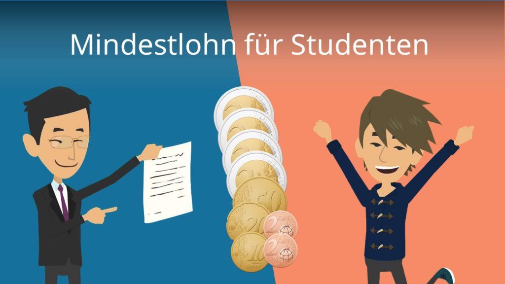 Mindestlohn Studenten