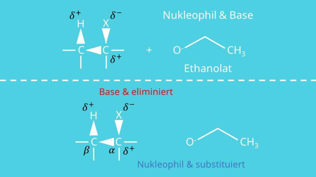 Nukleophil Ethanolat