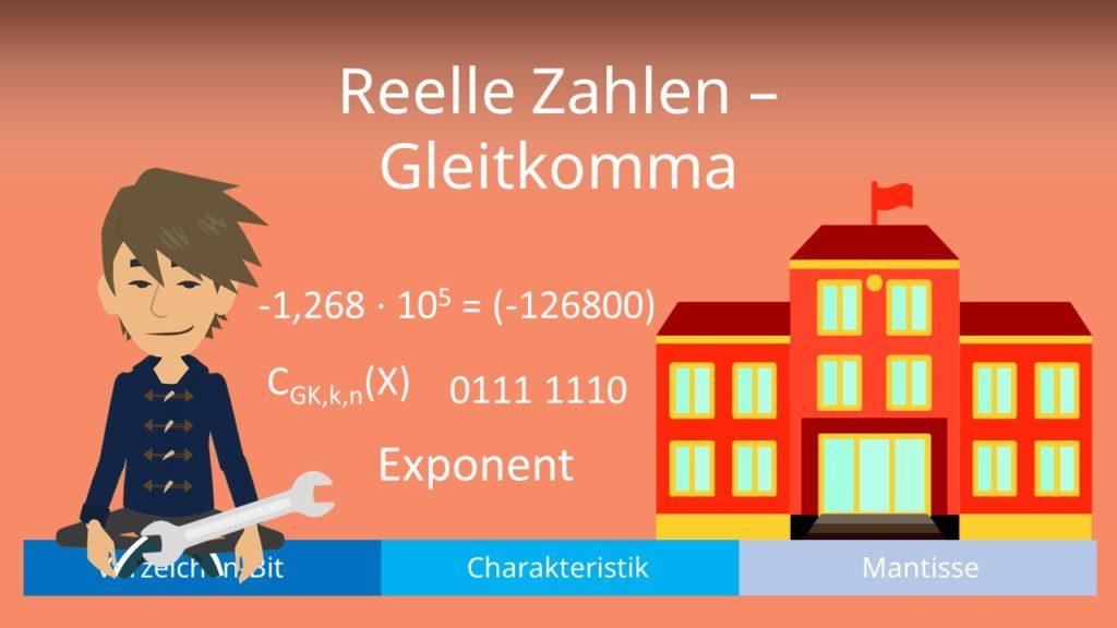 Relle Zahlen - Gleitkomma