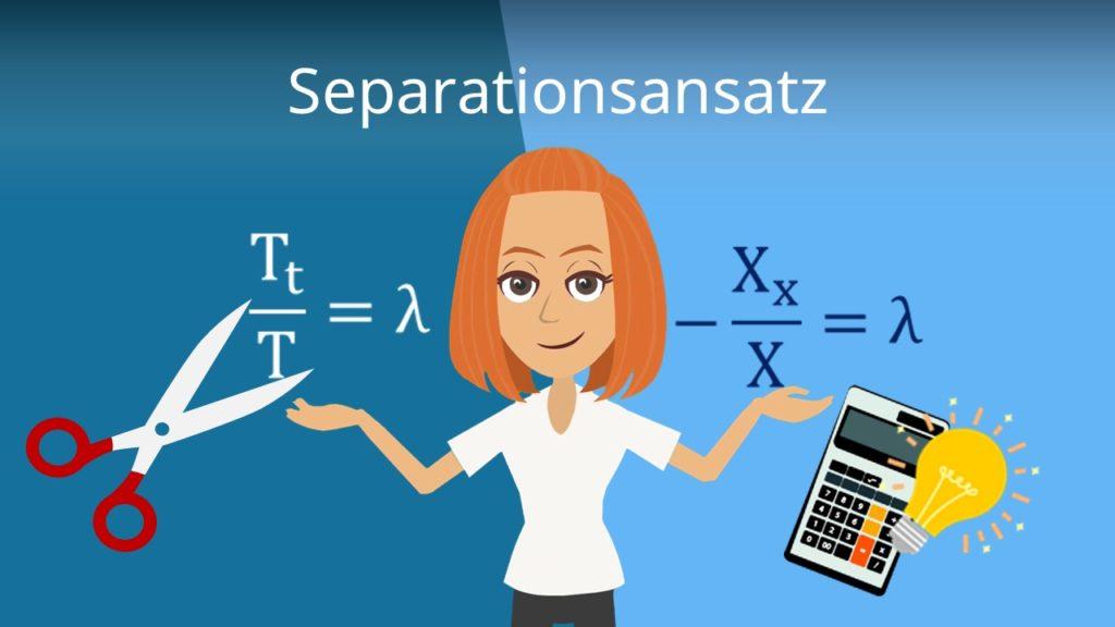 Separationsansatz