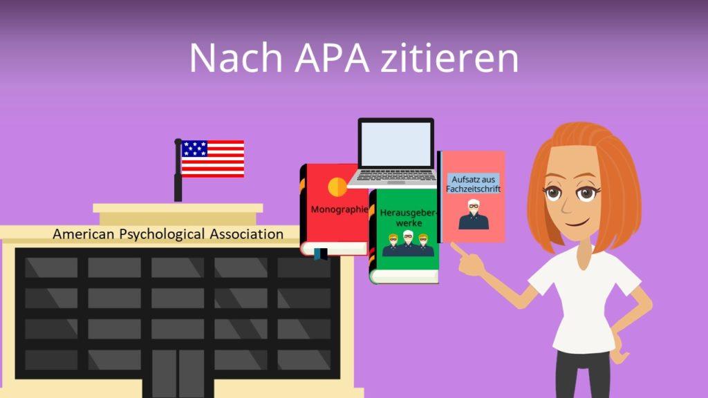 APA zitieren