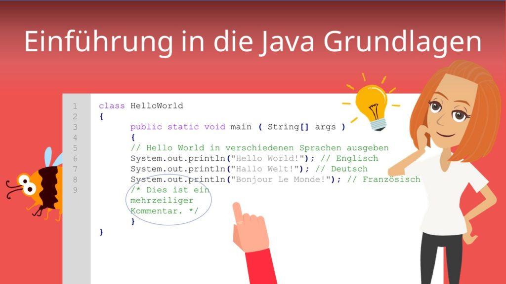 Einführung Java Grundlagen
