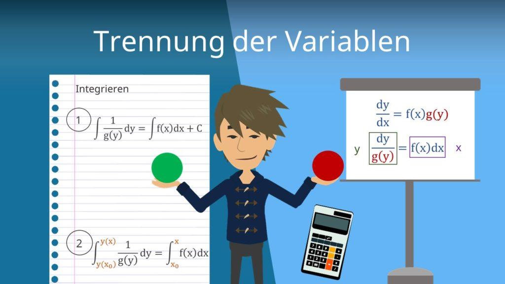 Trennung der Variablen