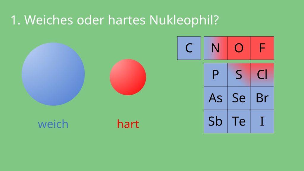 weiches nukleophil