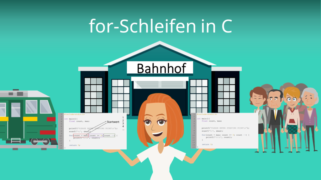 for-Schleifen in C