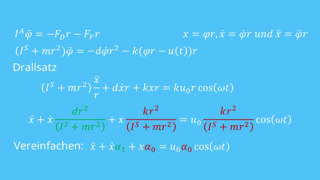 Differentialgleichung lösen