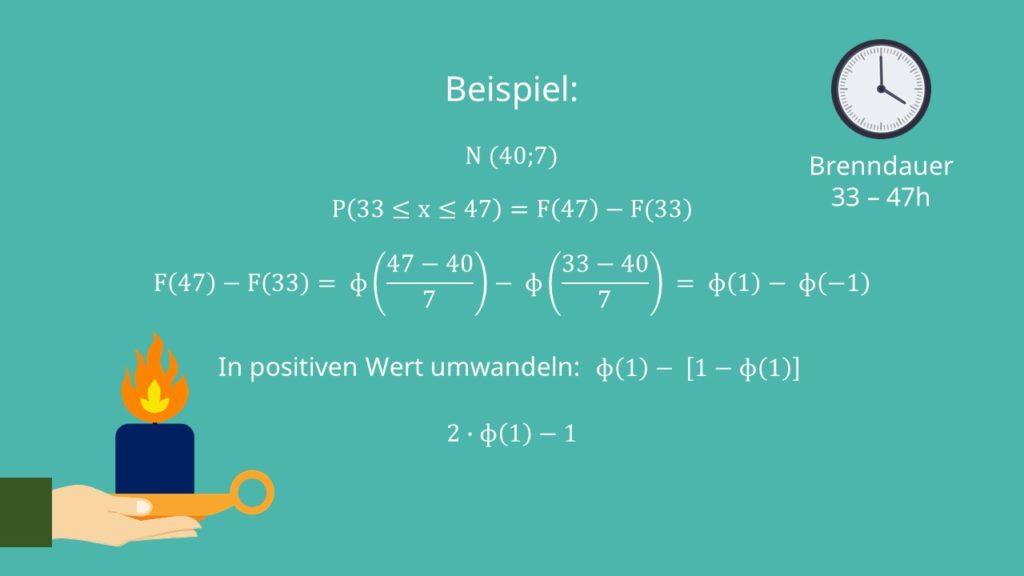 Normalverteilung Berechnung Und Beispiel Mit Video