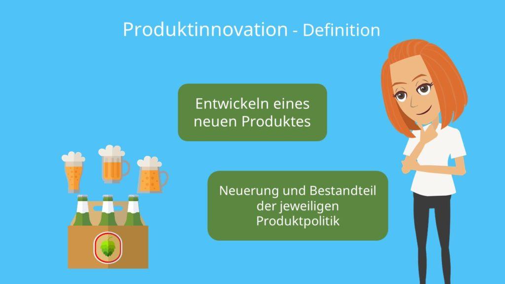 Entwicklung, Neuerung, Produktpolitik