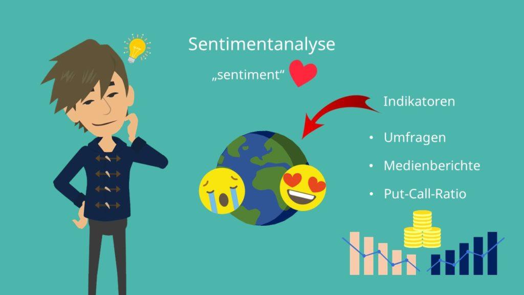 Sentimentanalyse Indikatoren Finanzanalyse