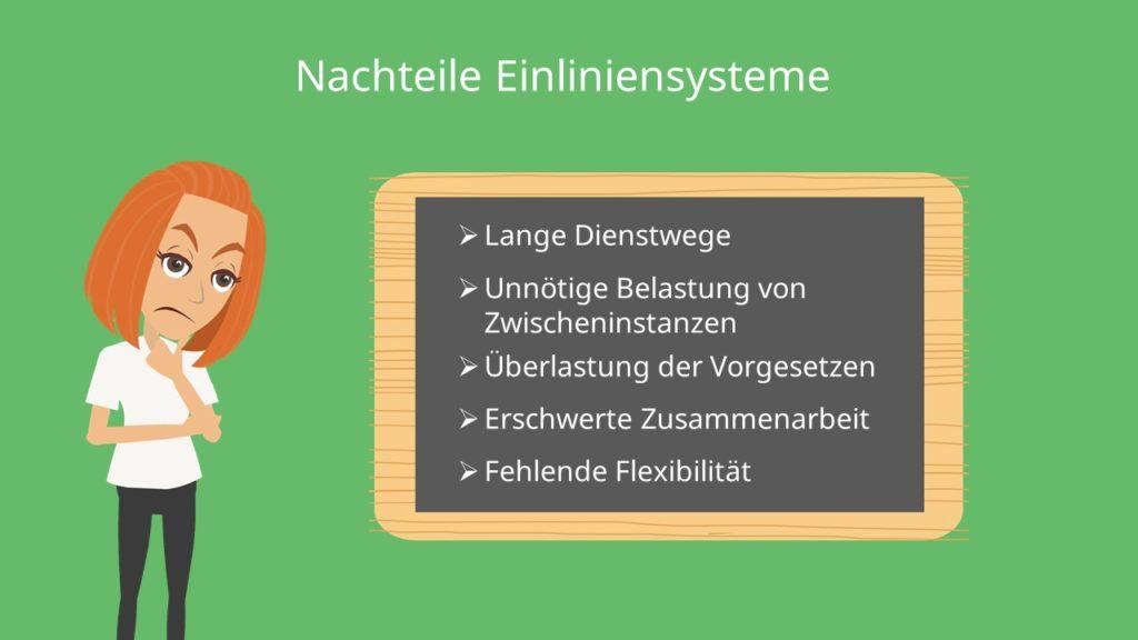 Unternehmensführung, zusammenarbeit, Einliniensysteme
