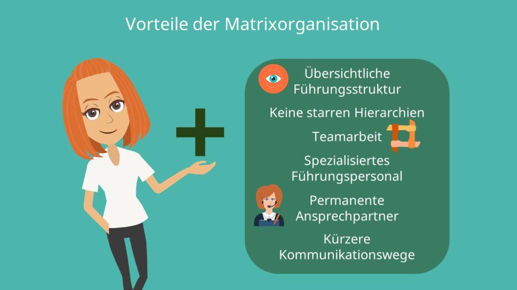 Matrixorganisation, Führungsstruktur, Teamarbeit, mehrdimensionale Organisationsform