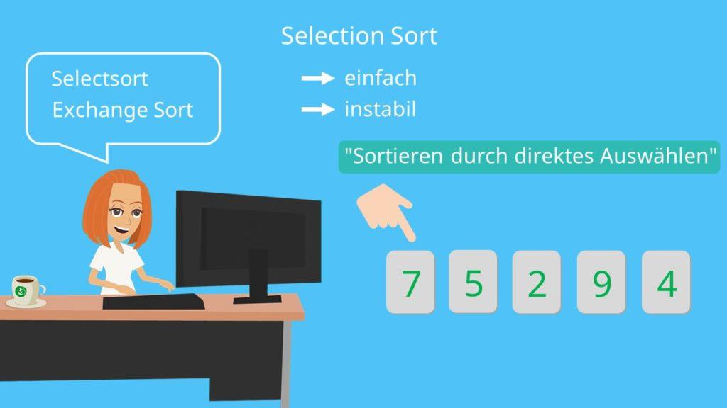 Selection Sort, Selectionsort
