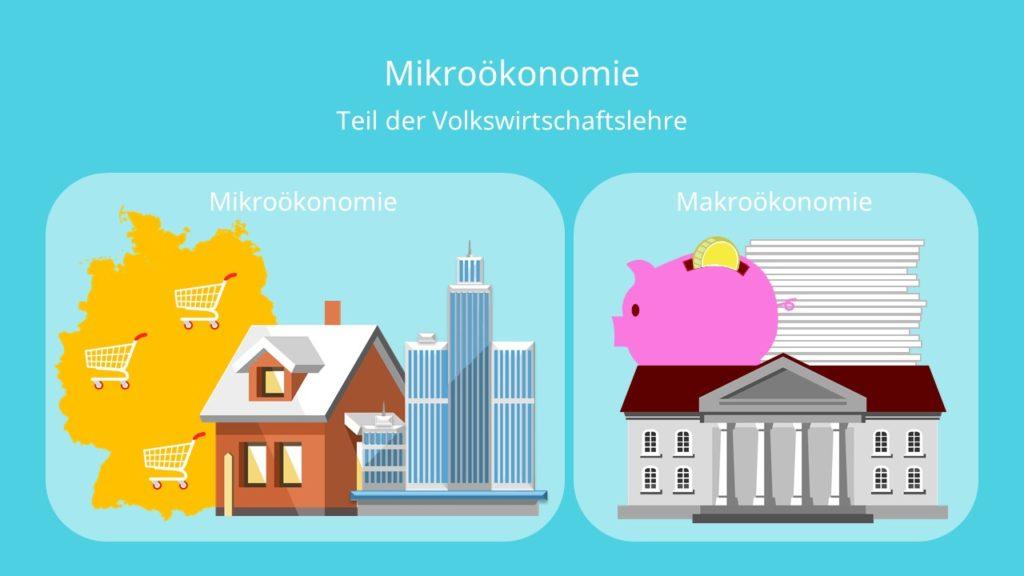 Mikroökonomie, Makroökonomie, Mikroökonomik
