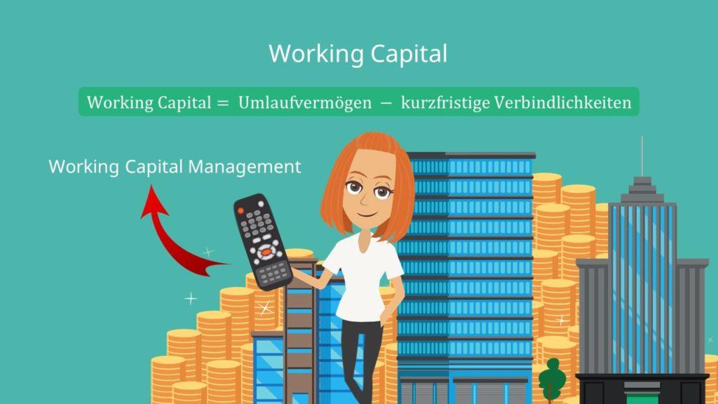 working capital, umlaufvermögen, kurzfristige verbindlichkeiten, working capital management