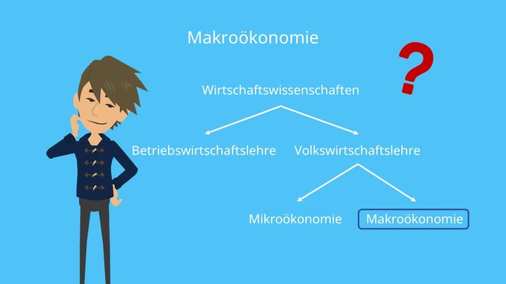 VWL Makroökonomie Makroökonomik Übersicht Wirtschaftswissenschaften Mikroökonomie