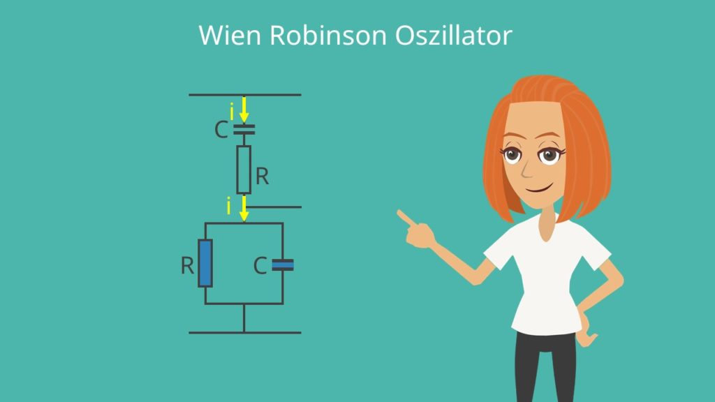 Phasenverschieber-Oszillator, Oszillator, elektrischer Oszillator, RC-Glied,, elektrische Schwingung, Wien Robinson Schwingung