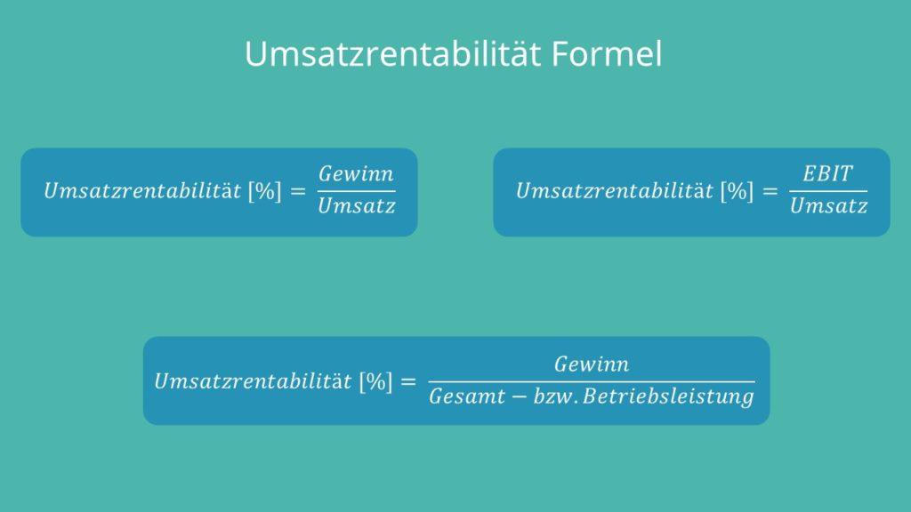 ek rentabilität formel