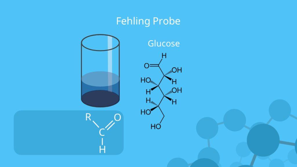 Fehling Probe, Fehlingprobe, Fehling Reaktion, Glucose
