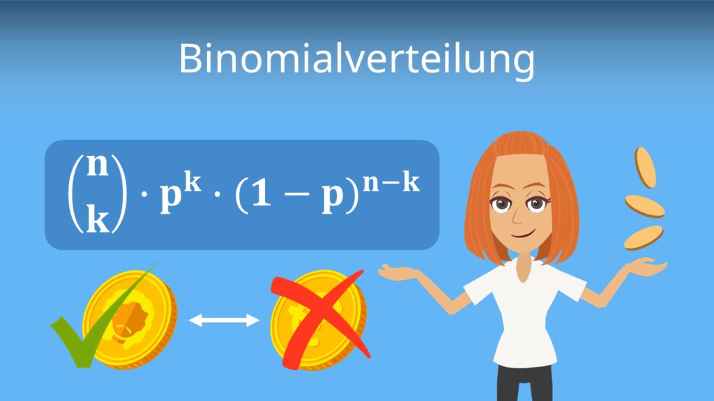 Zum Video: Binomialverteilung