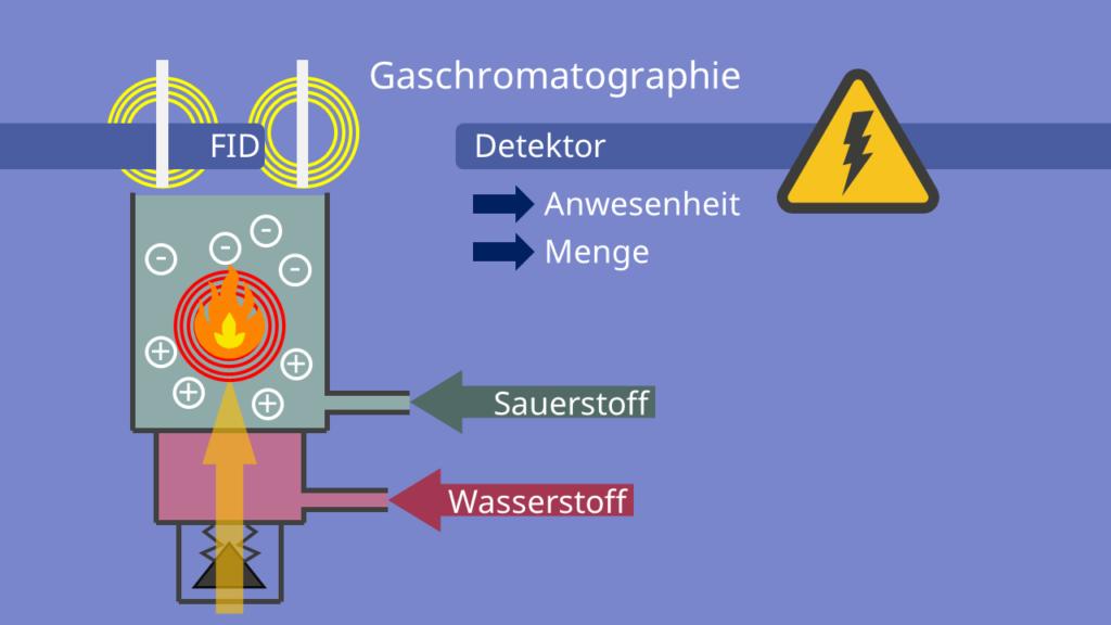 FID, Gaschromatographie