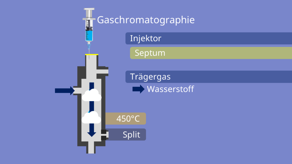 Injektor, Gaschromatographie