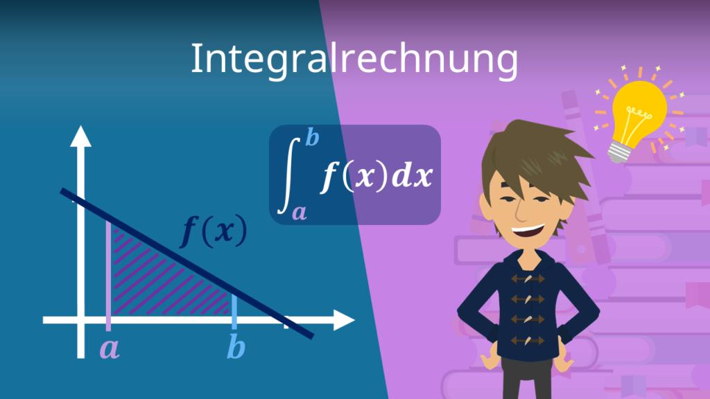Integralrechnung, Integral berechnen, Integral bestimmen, Integralfunktion