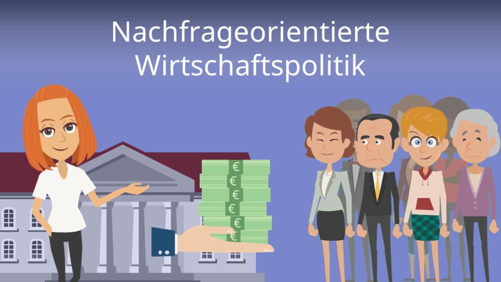 Zum Video: Nachfrageorientierte Wirtschaftspolitik