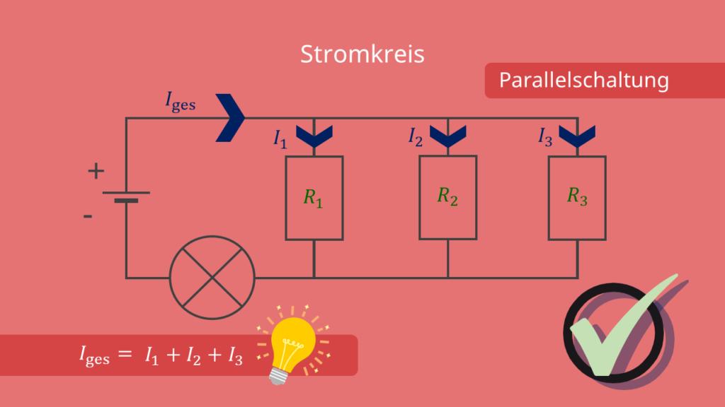 Stromkreis - Parallelschaltung und Stromstärke
