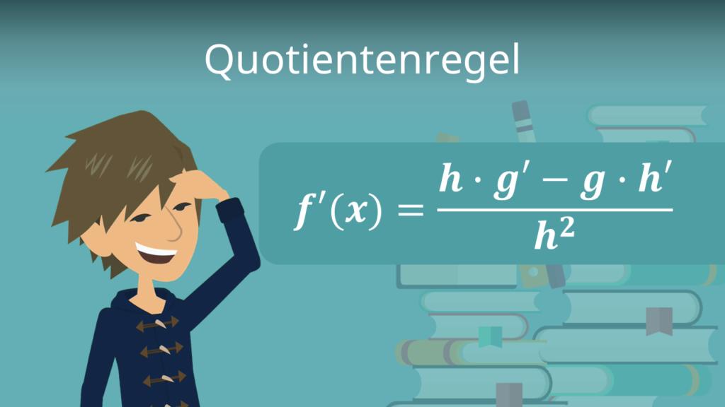 Zum Video: Quotientenregel
