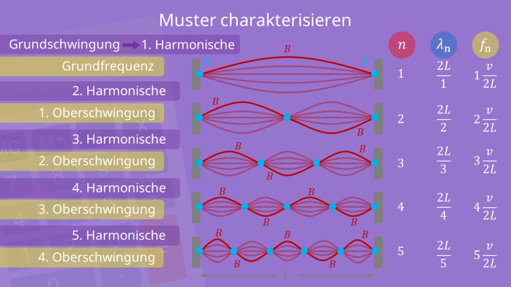 Die verschiedenen Muster, Stehende Welle
