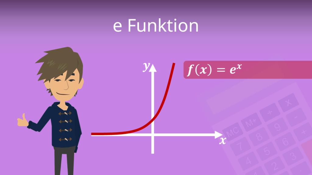 e Funktion, natürliche exponentialfunktion, e Funktion Eigenschaften, e Funktion Rechenregeln